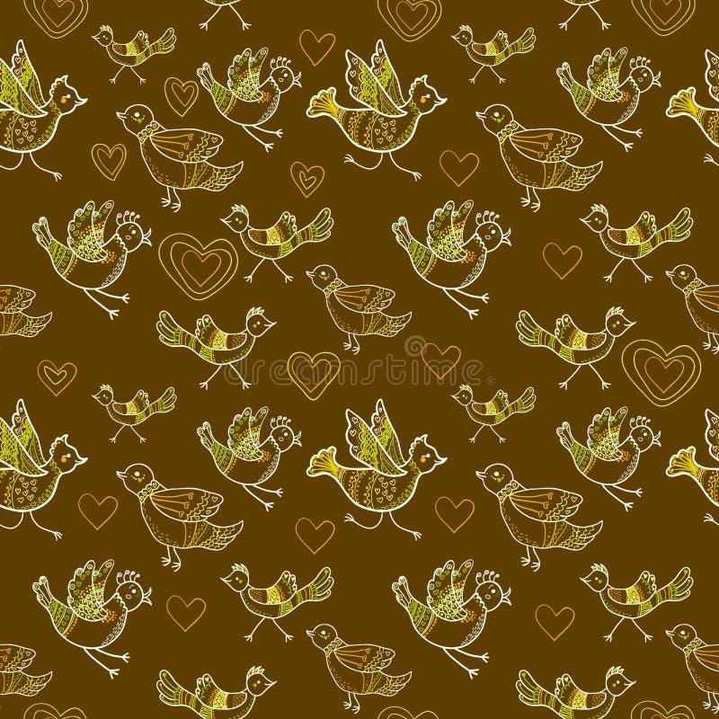 Download 无缝的鸟 向量例证. 插画 包括有 重复, 无缝, 背包, 例证, 颜色, 抽象, browne, 样式 - 30335454