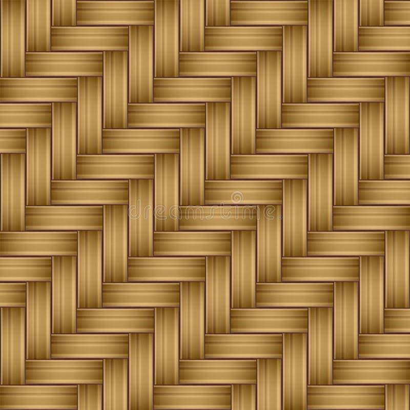 无缝竹木纹理的样式 免版税库存图片