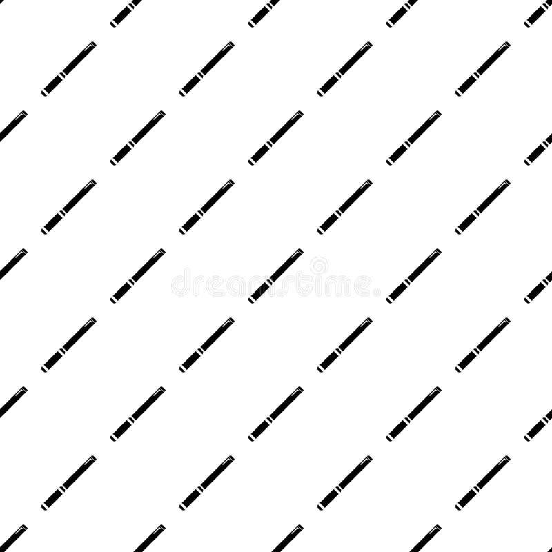 无缝管子的样式 库存例证