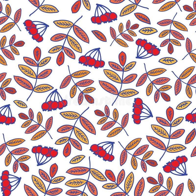 无缝背景花卉的模式 向量例证