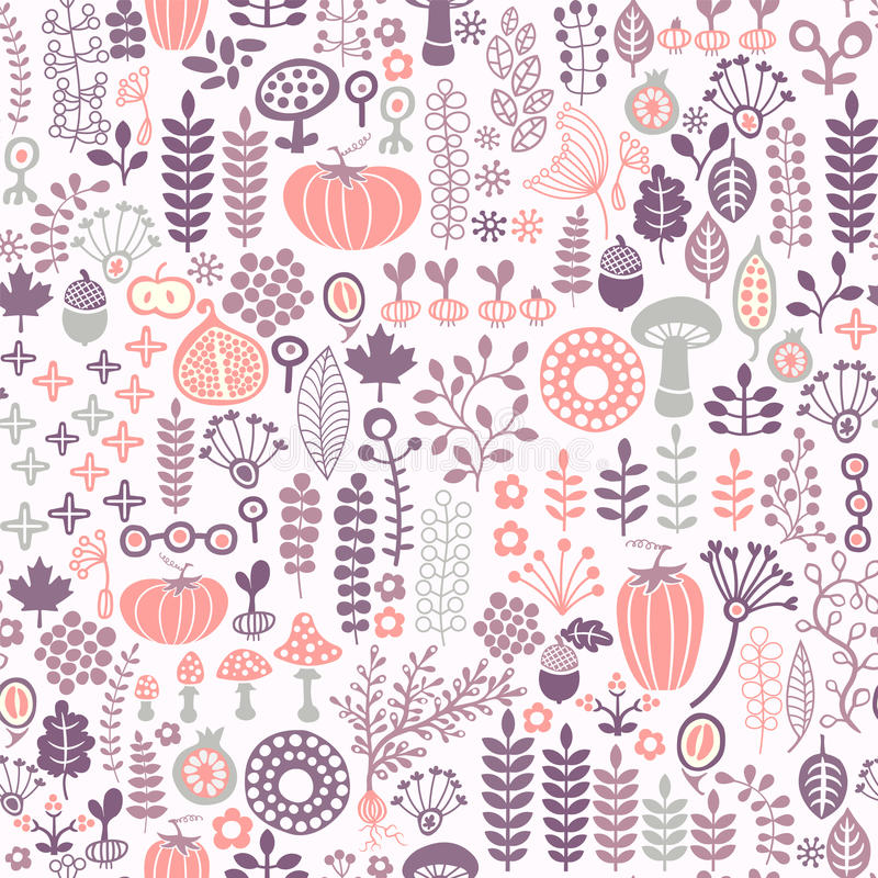 Download 无缝花卉的模式 向量例证. 插画 包括有 橡木, 花卉, brander, 春天, 装饰, beauvoir - 22357224