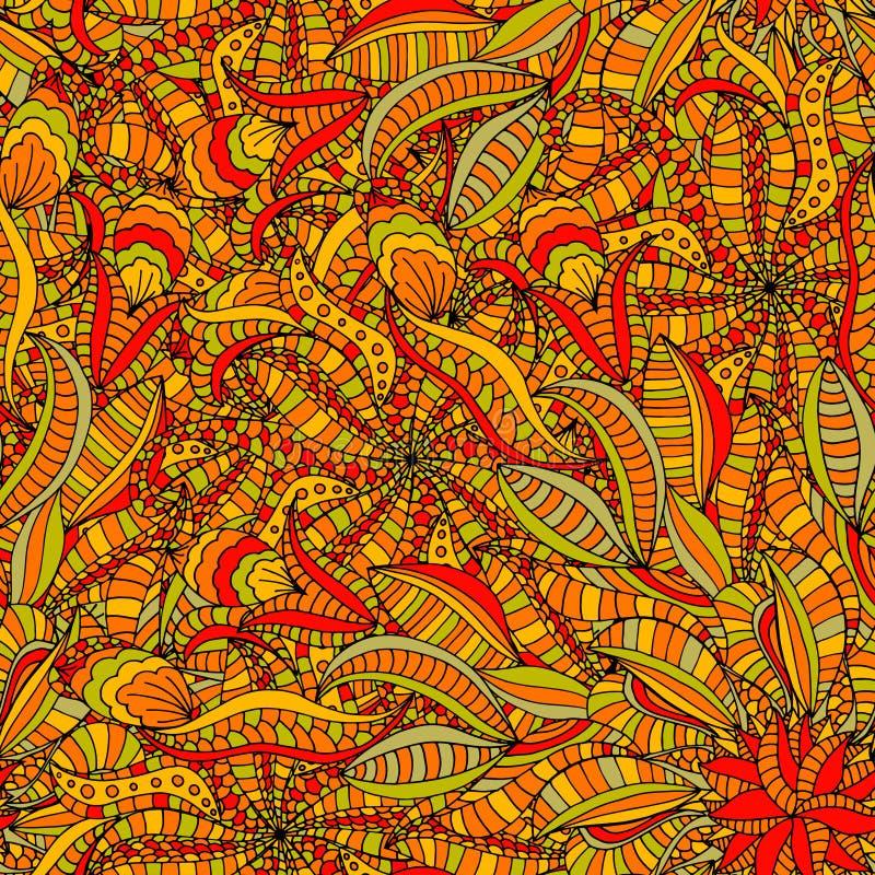 Download 无缝花卉的模式 向量例证. 插画 包括有 叶子, 艺术, 女性, 例证, 乱画, 靠山, 上色, 工厂, 启发 - 59102548