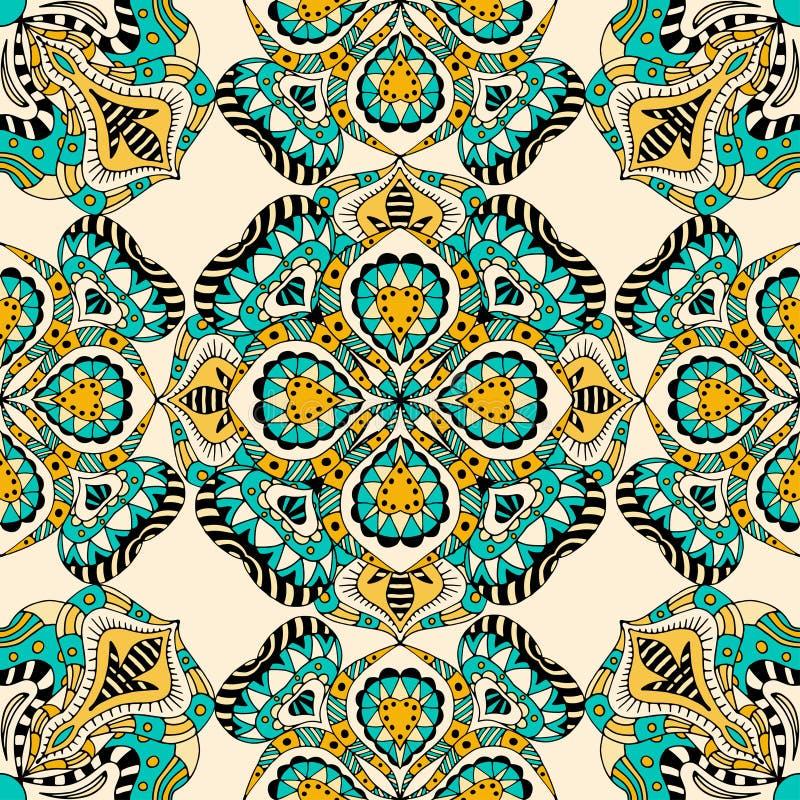 Download 无缝花卉的模式 向量例证. 插画 包括有 典雅, 欢乐, 纹理, 模板, deco, 要素, 当地, 文化 - 59105389