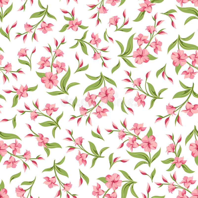 无缝花纹花样的粉红色 也corel凹道例证向量 皇族释放例证