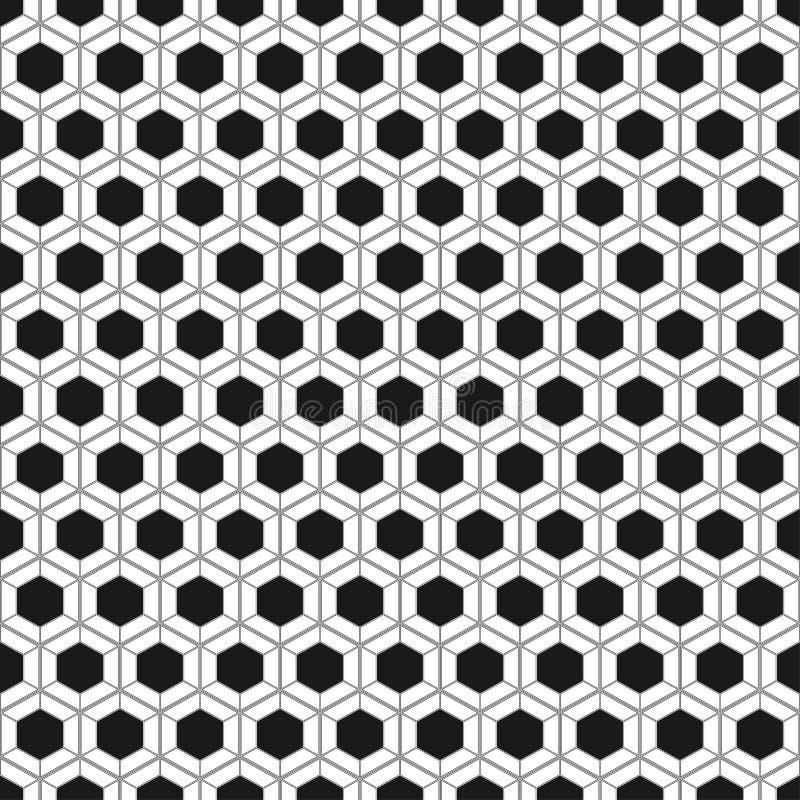 无缝蜂窝的模式 也corel凹道例证向量 六角电池纹理 在黄色背景的栅格 设计几何 现代时髦 库存例证