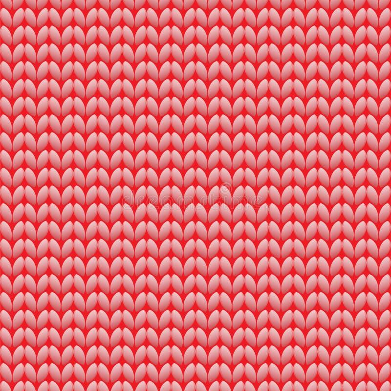 无缝被编织的模式 羊毛布料 背景织品编织多色模式无缝的纹理向量 也corel凹道例证向量 向量例证