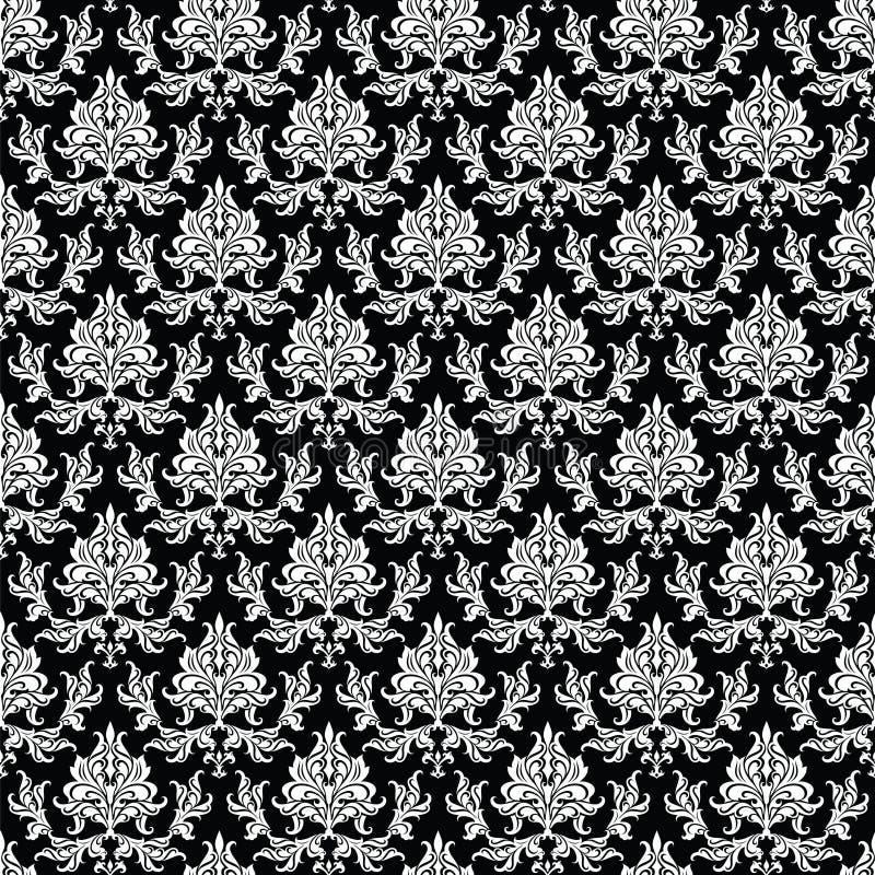无缝锦缎的模式 向量例证