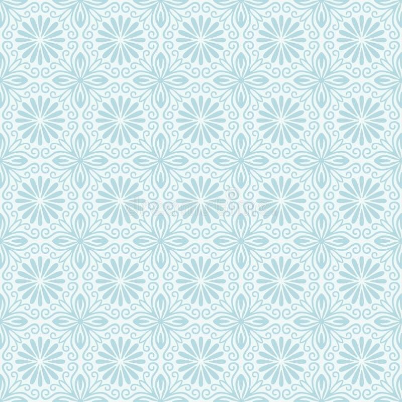 无缝florall的模式 库存例证