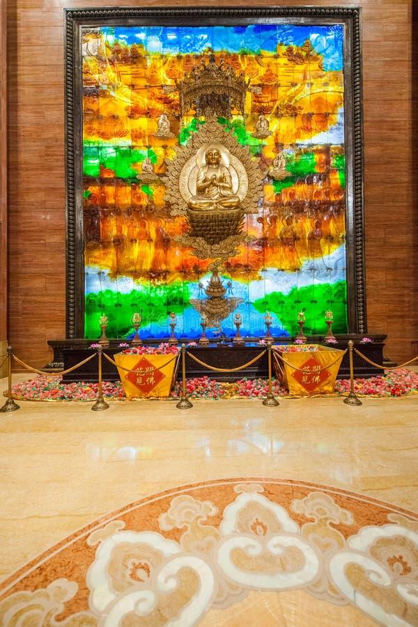 无锡灵山菩萨山风景区灵山梵蒂冈宫殿& x22; 中国西藏world& x22; 免版税库存照片