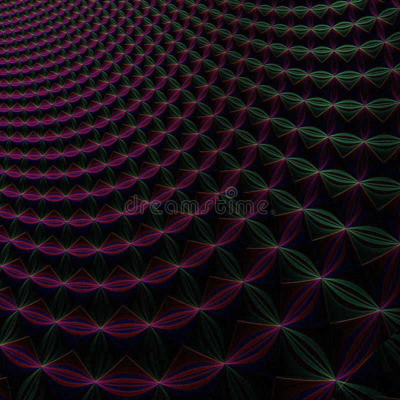 无限抽象的背景 向量例证