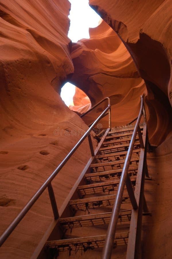 无限楼梯 图库摄影