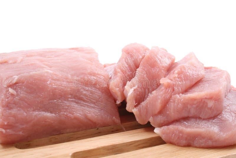 无骨的腰部猪肉 免版税库存图片
