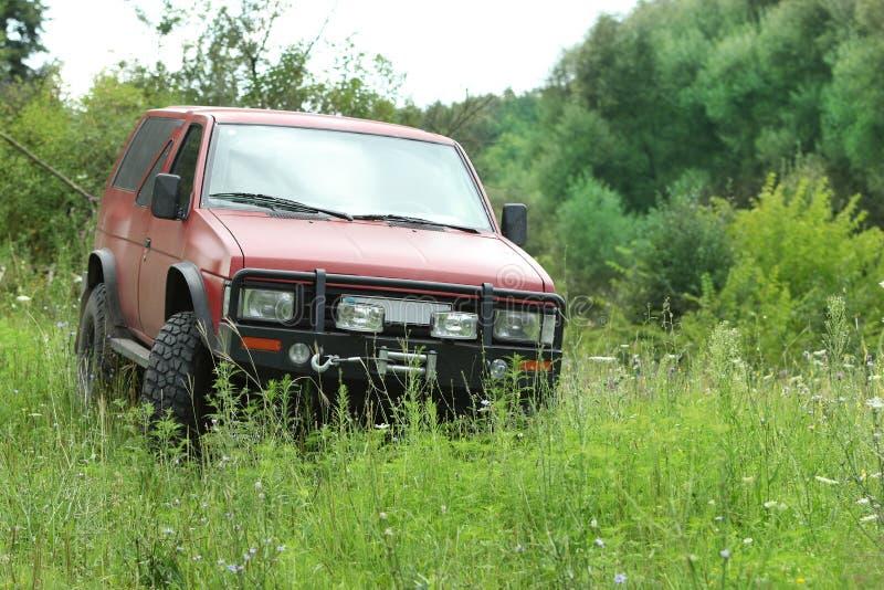 日产Terrano 4x4 1990年 免版税库存照片