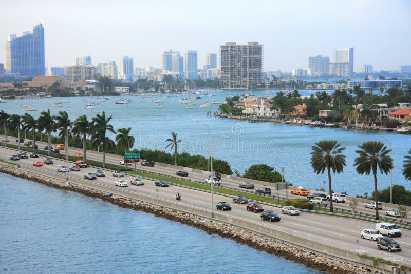 日佛罗里达迈阿密 库存图片