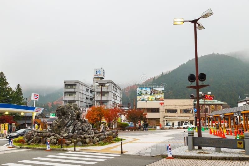 日光市在日本 免版税图库摄影