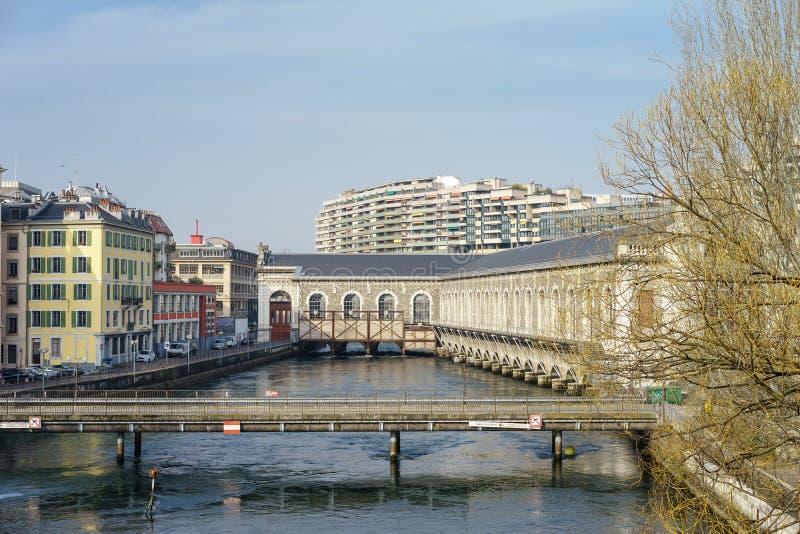 日内瓦市 库存照片