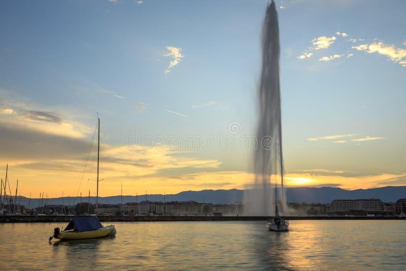 日内瓦市 图库摄影