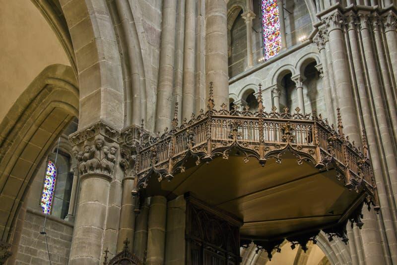 """日内瓦,瑞士†""""2017年8月29日:圣皮特圣徒・彼得` s大教堂 图库摄影"""
