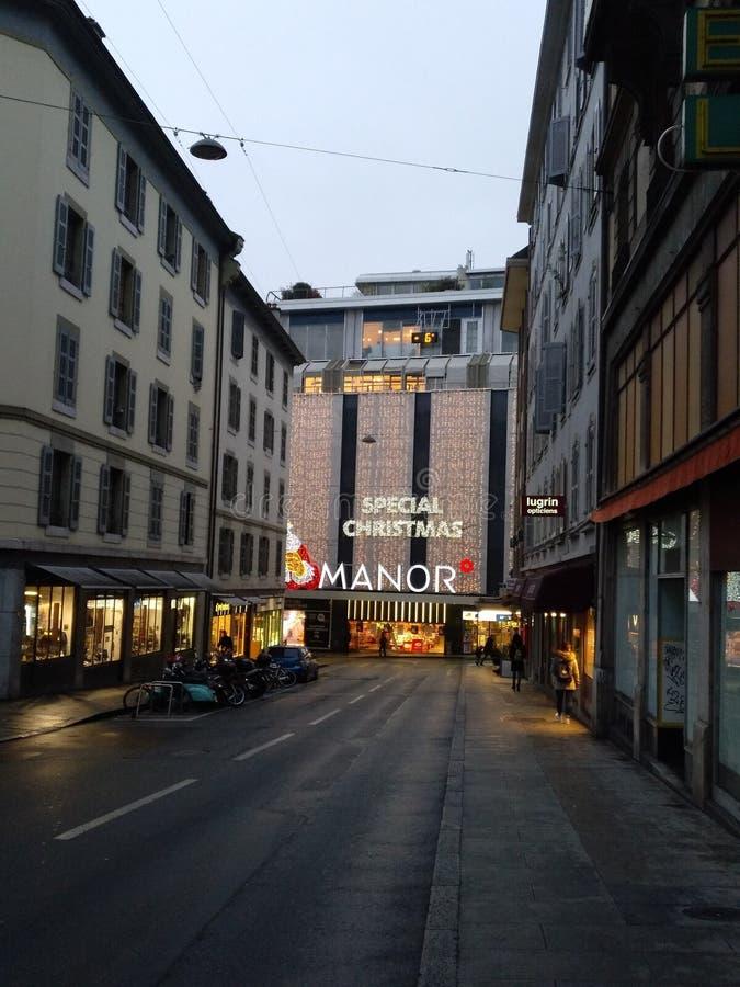 日内瓦 免版税库存照片