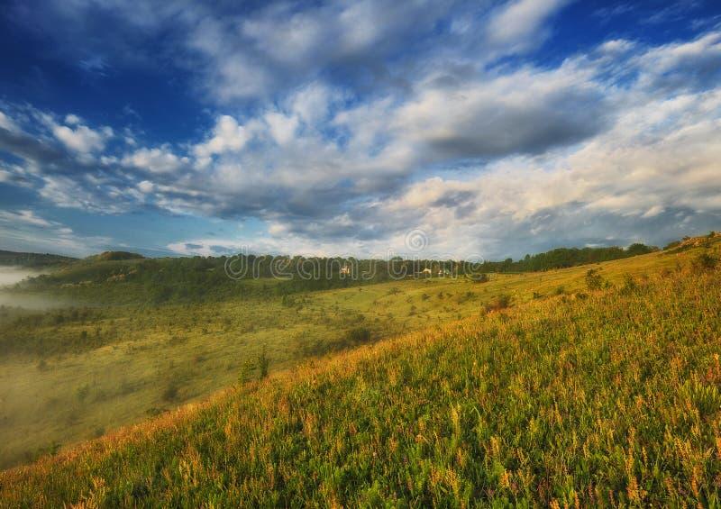 日出在全国自然公园 库存图片