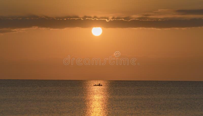 日出在南佛罗里达 库存照片