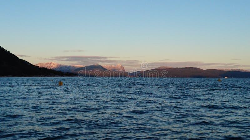日出山海洋 图库摄影