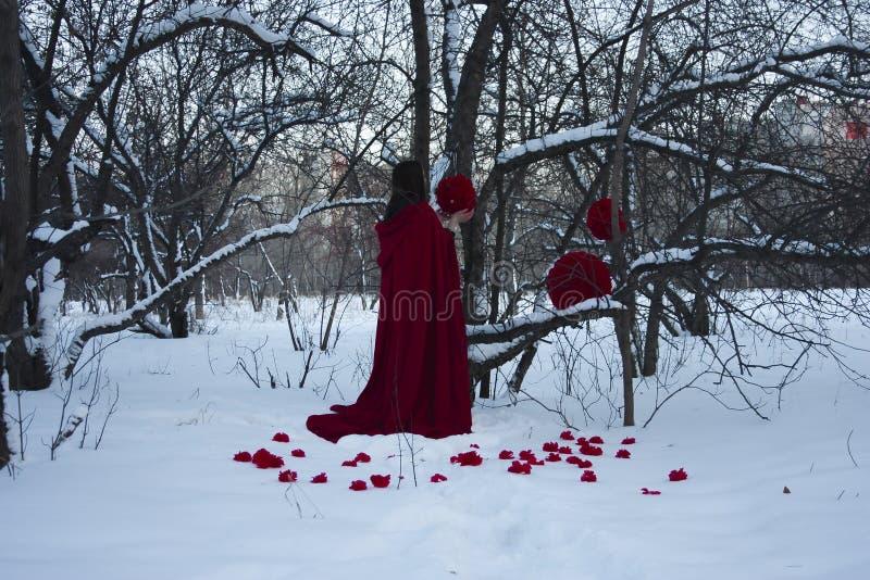 日历概念日期冷面万圣节愉快的藏品微型收割机说大镰刀身分 由树的火热的巫婆 库存图片