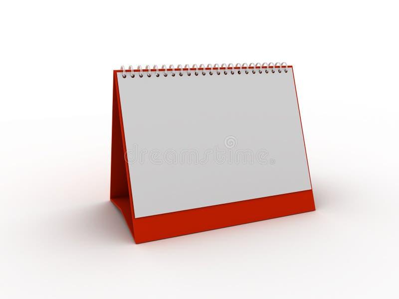 日历计划程序 库存照片