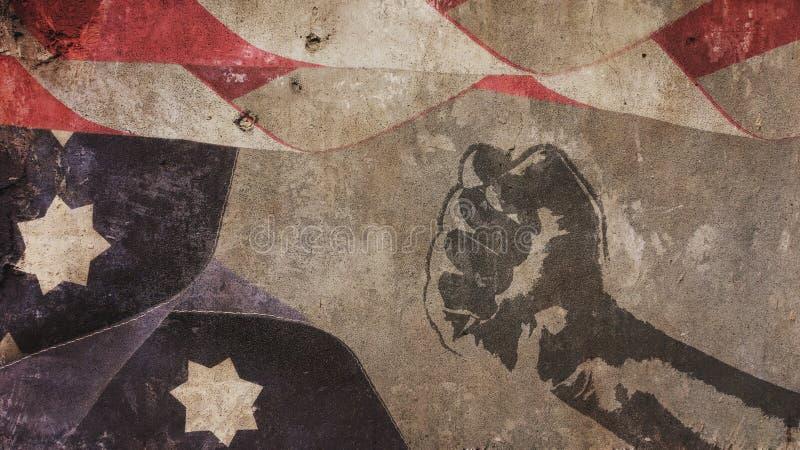 日国王luther马丁 美国下垂混凝土 免版税库存照片
