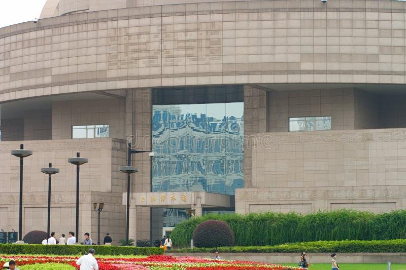 日常生活在上海,中国 免版税图库摄影