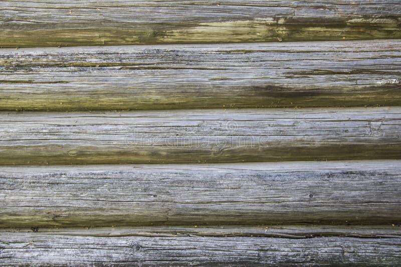 日志木日志木墙壁作为背景纹理/木 库存照片