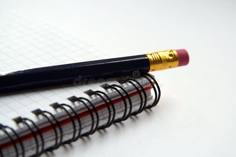 日志铅笔 库存图片