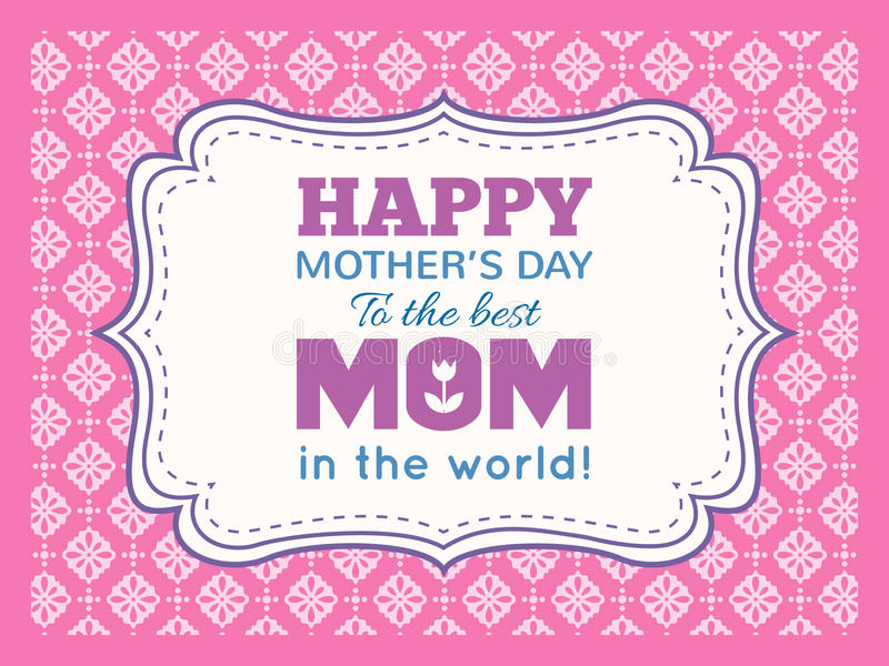 Download 日愉快的母亲 印刷术信件字体类型 库存例证. 插画 包括有 节假日, 背包, 礼品, 邀请, 抽象, 系列 - 62536408