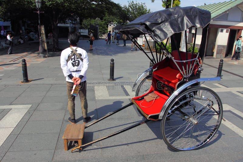 日本人力车 免版税库存图片