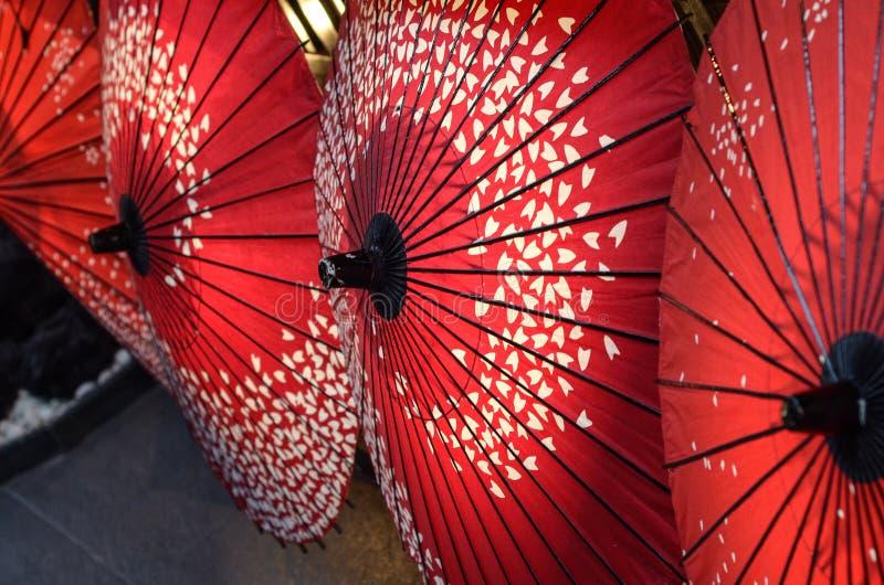 日本伞 免版税库存图片