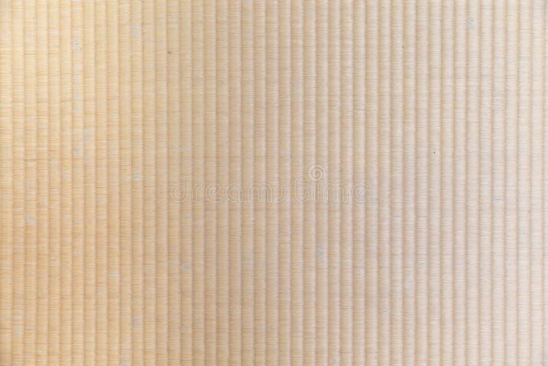 日本传统tatami地板席子纹理背景 免版税图库摄影