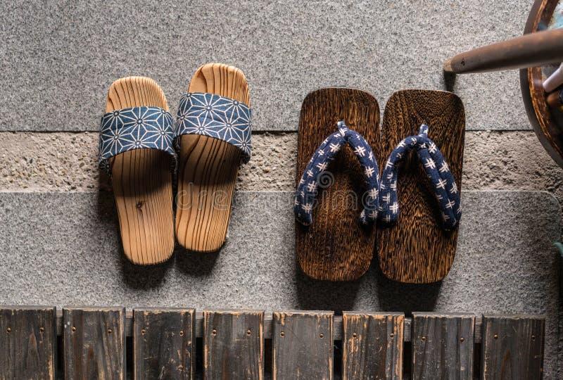 日本凉鞋 免版税库存图片