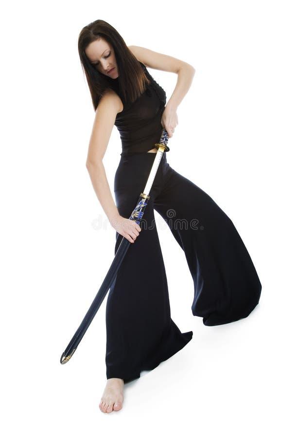 日本剑 图库摄影
