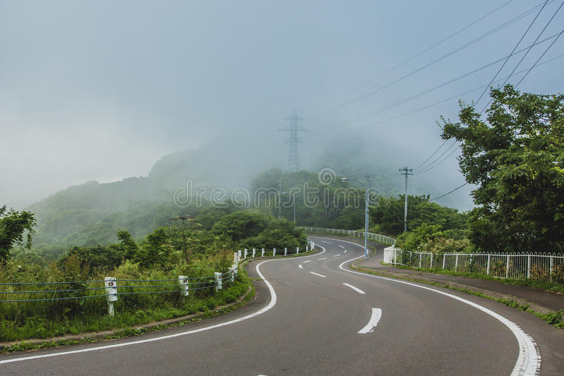 日本北海道 免版税库存照片