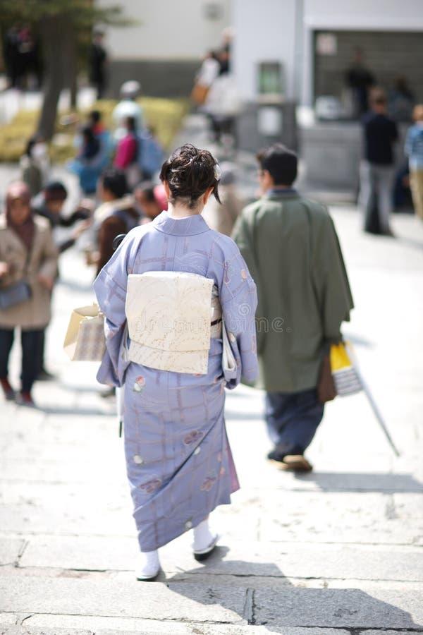 日本和服 免版税库存图片