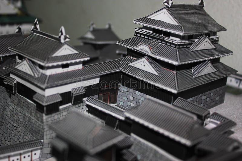 日本城堡 图库摄影