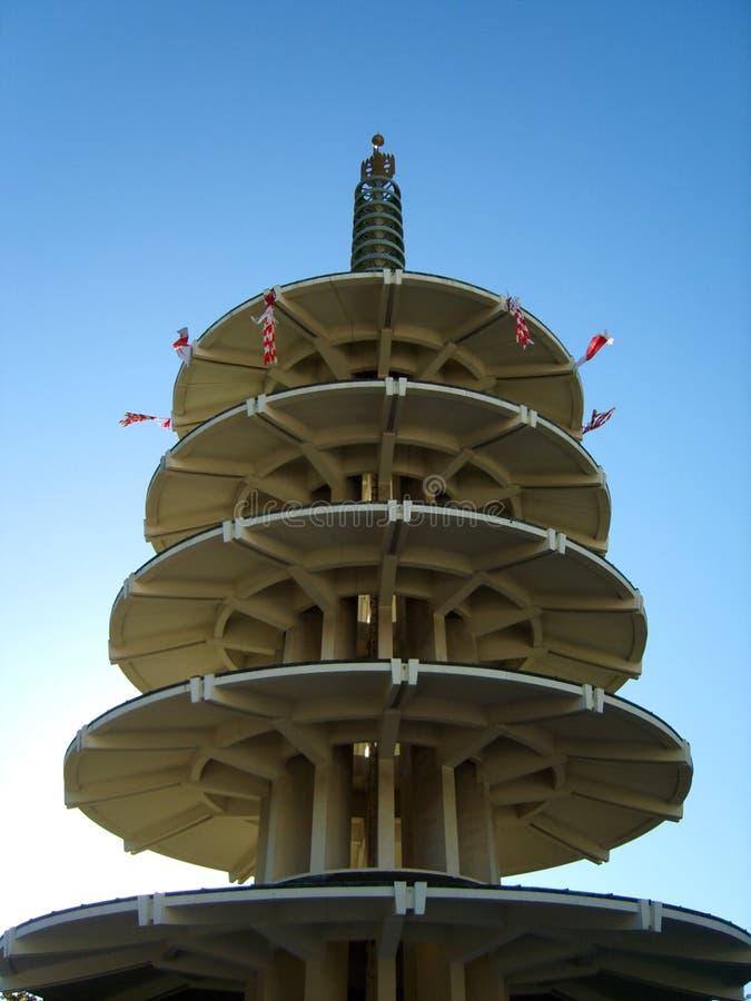 日本塔 库存照片