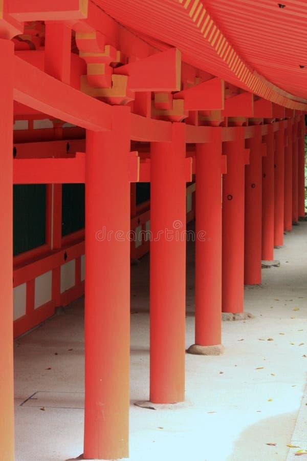 日本奈良寺庙 免版税库存照片