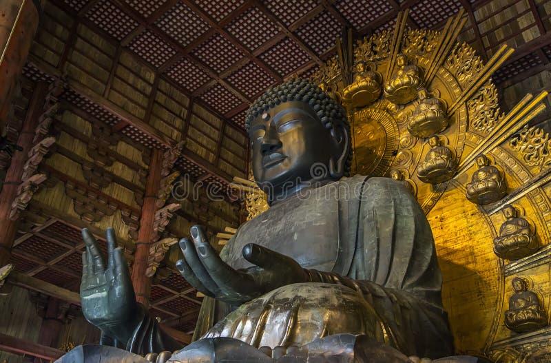 日本奈良寺庙todaiji 免版税库存图片