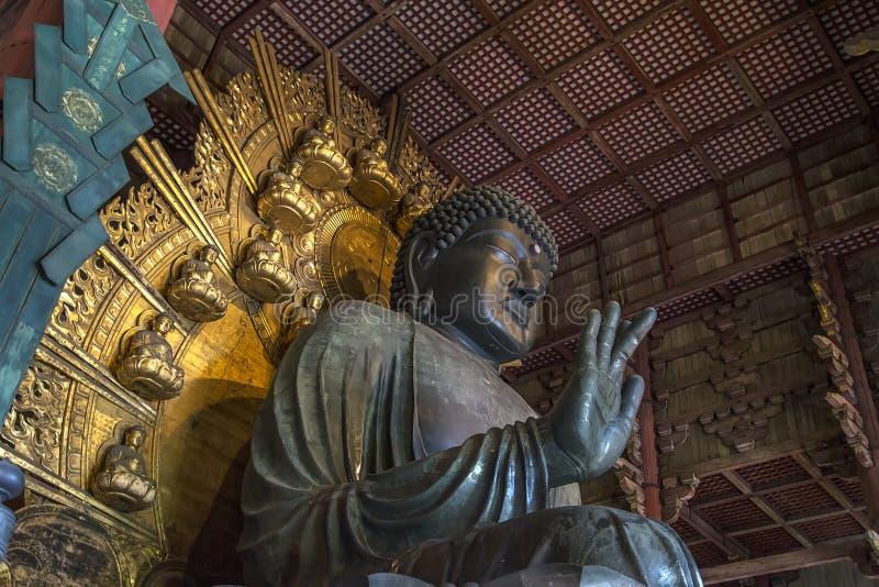 日本奈良寺庙todaiji 免版税图库摄影
