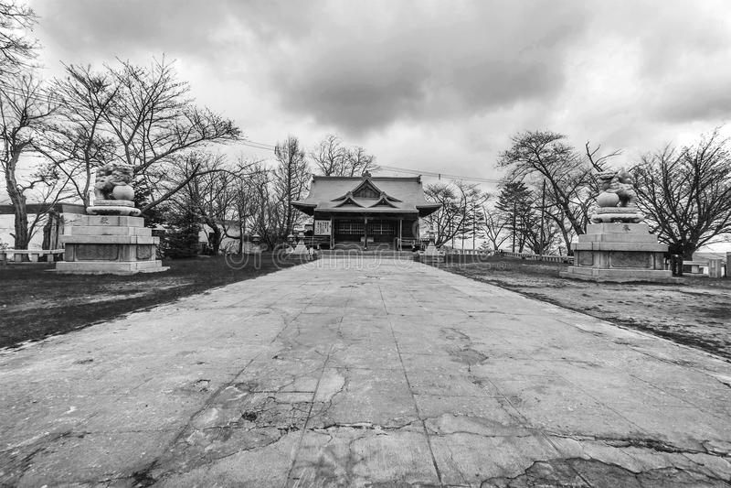 日本寺庙传统文化 库存照片