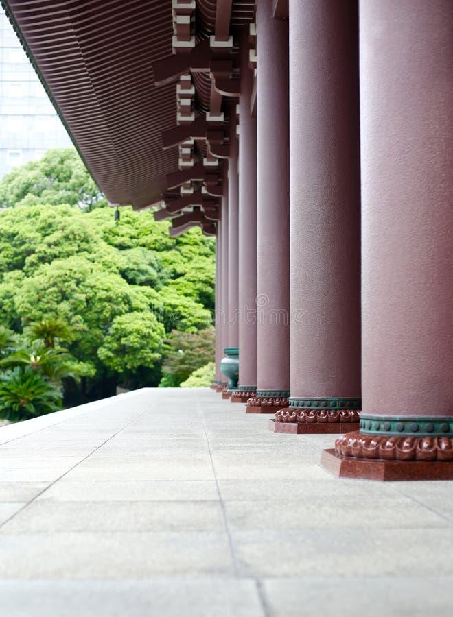 日本寺庙 库存照片