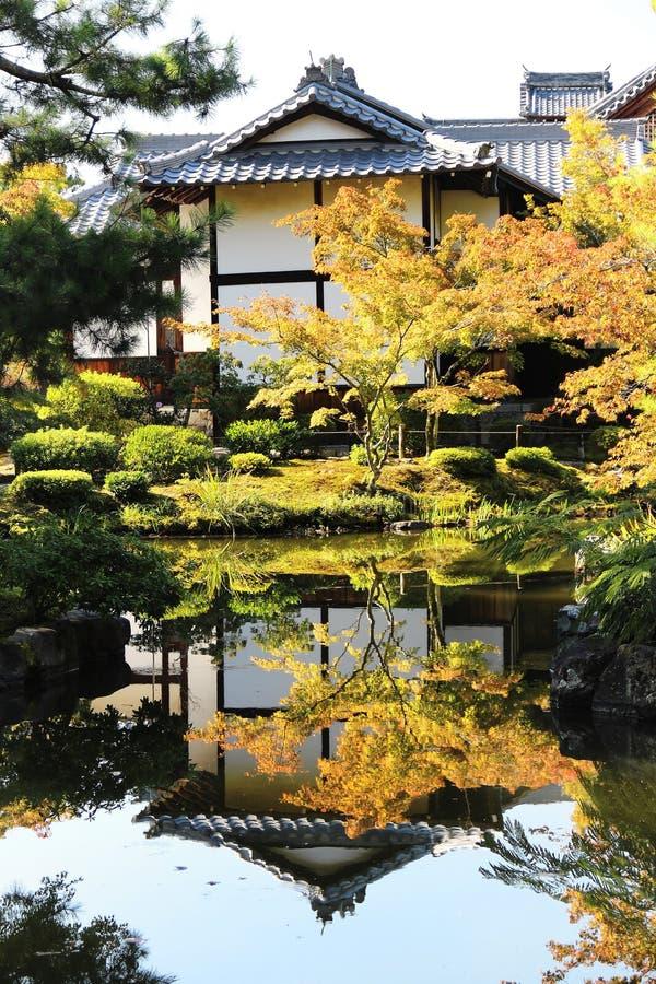 日本寺庙 库存图片