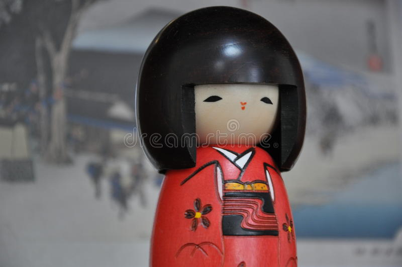 日本小雕象 免版税库存图片