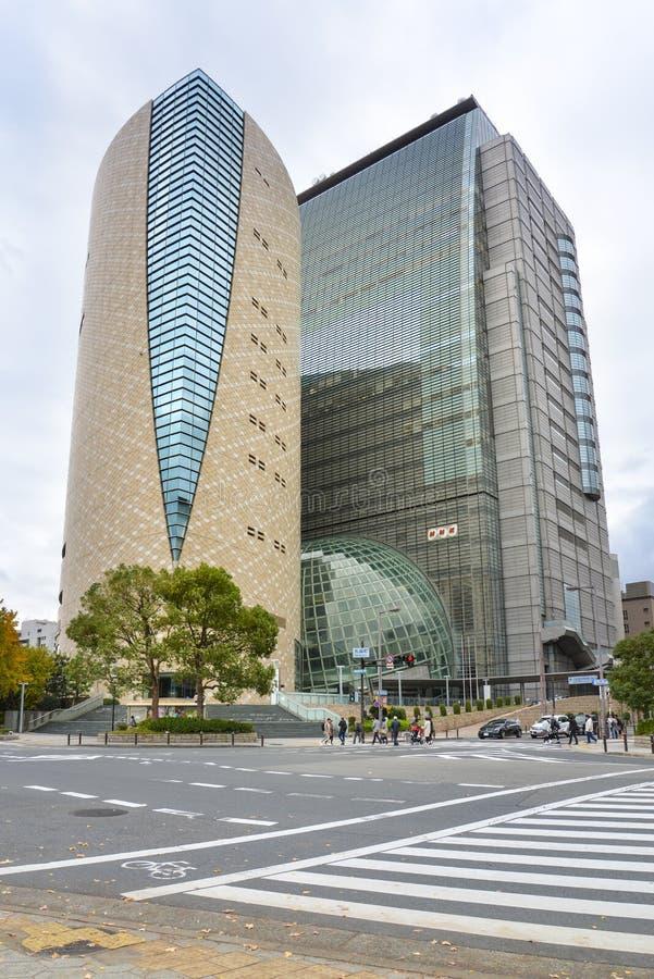 日本广播协会大厦,大阪,日本 库存照片